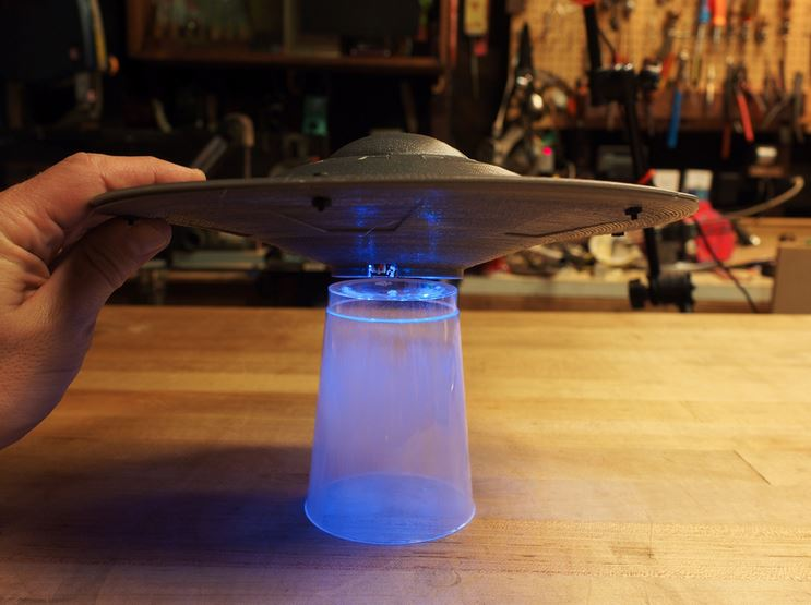 UFO Flying Saucer with Circuit Playground Express